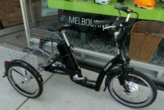 Ezee Carro Electric Bike, electric tricycle perth