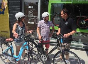 Electric bike rentals Melbourne