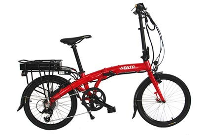 Ezee Viento folding electric bicycle