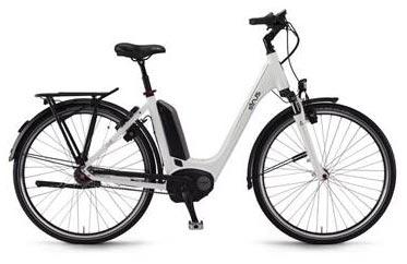 Sinus Tria N7 Unisex electric bike - white