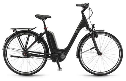 Sinus Tria N7 Unisex electric bike - black