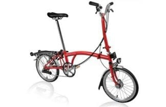 Brompton H6R folding bike