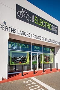 Perth Electric Bike Centre is located in Osborne Park