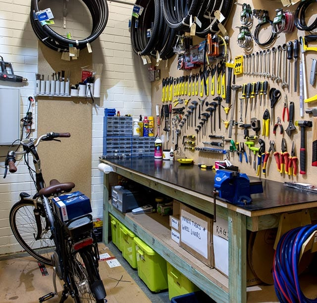 Perth Electric Bike Centre conducts its own workshop services