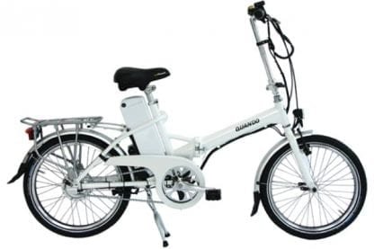 Ezee Quando folding ebike at Electric Bikes Perth